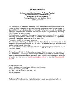 Instructor/Assistant/ Associate Professor in the Department of Surgery