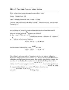 Solvability of polynomial equations over finite fields