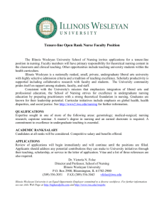 Illinois Wesleyan University School of Nursing