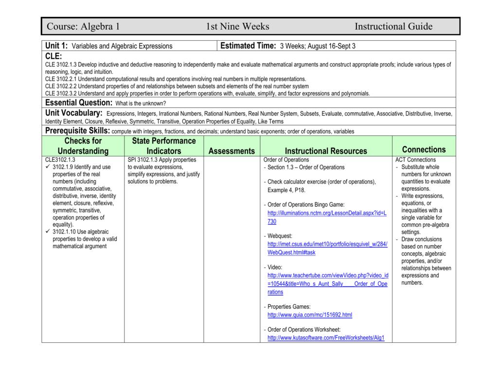 Workbooks Pemdas Algebra Worksheets Free Printable Worksheets