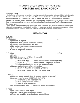 Physics Chapter wise Study Materials