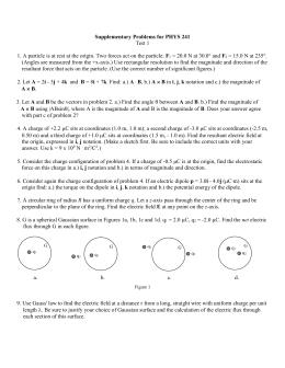 solutions to supplementary problems from scott Introduction to probability: problem solutions (last updated: 8/6/05) c dimitri p bertsekas and john n tsitsiklis massachusetts institute of technology www site for book information and orders.