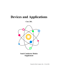 Semi-Conductor Diode notes