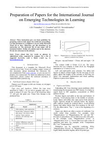 iJET Template - International Journal of Emerging Technologies in