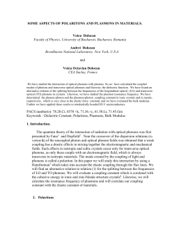 A Quantum Mechanical Treatment of the Contribution of