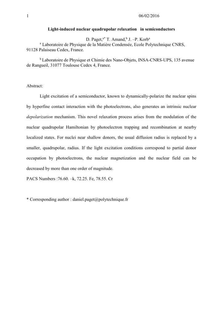 Quadrupolar Effects On The Dynamic Polarization Of Nuclei