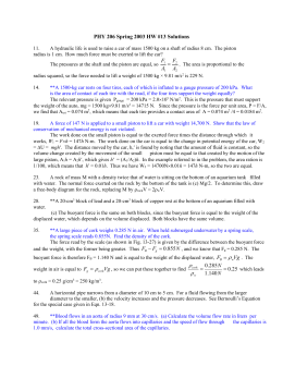 PHY 206 HW #13 Solutions