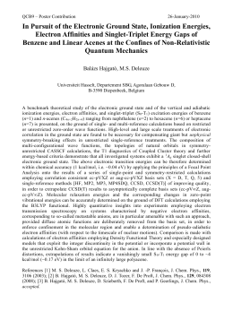 A Benchmark Theoretical Study of the Ionization Energies, Electron