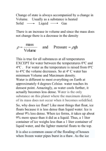 Lecture 6: Gas laws