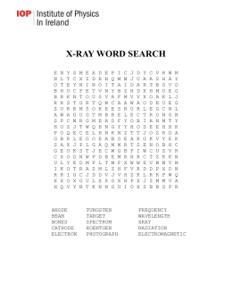 X-RAY WORD SEARCH