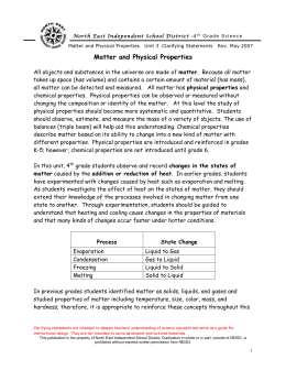 Physical Properties - North East Independent School District
