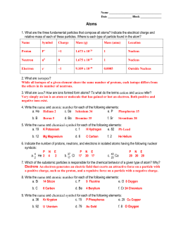 Review Sheet