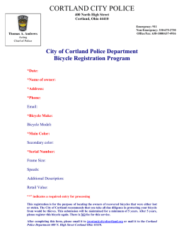 City of Cortland Police Department