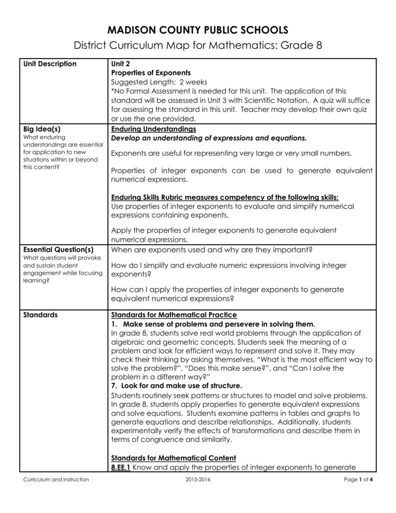 Useful properties, application
