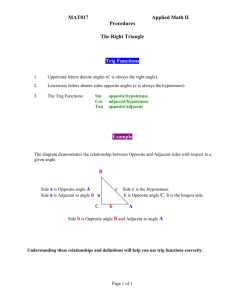 Tips on The Right Triangle in Word