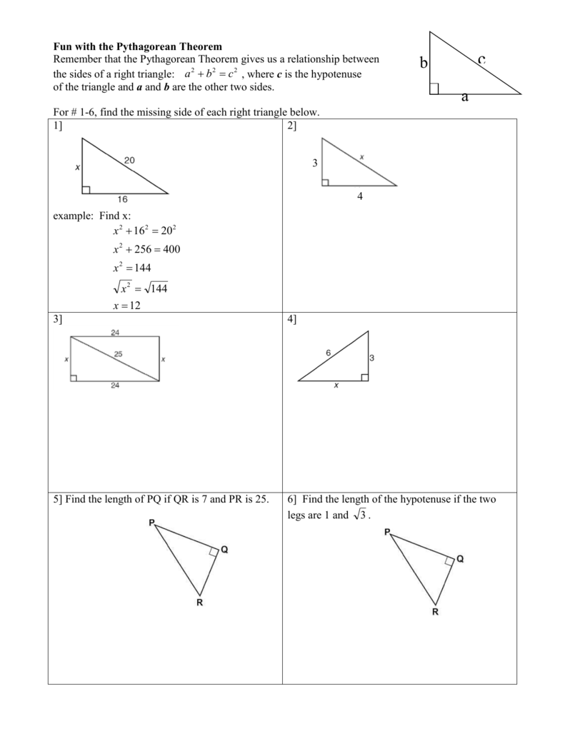worksheet Pythagorean Theorem Puzzle Worksheet pythagorean worksheet fifth grade word problems 100 angle of elevation and depression trig new 005890101 1 904c7782acacf1a7285fd94e140201f7 of