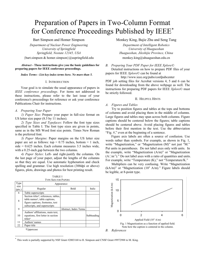 IEEE Conference Paper Template e51ad254ad1