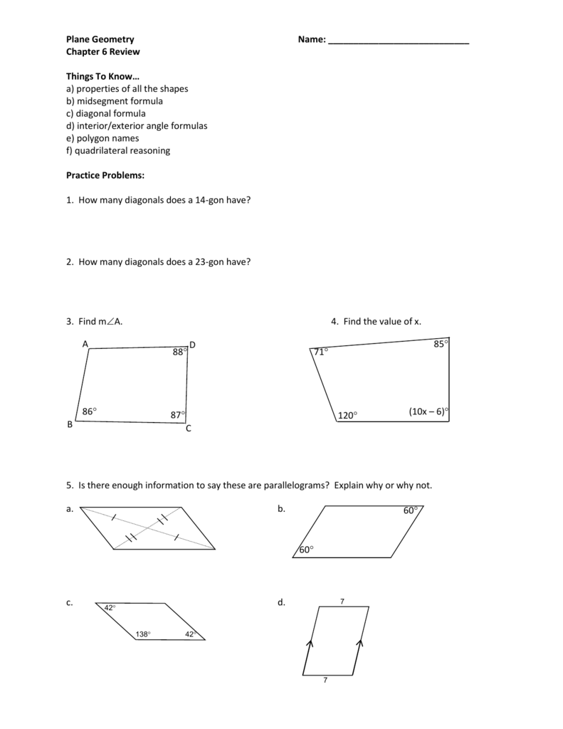 75+ 6 1 Practice Angles Of Polygons Chapter 6 - ディズニー シー ...