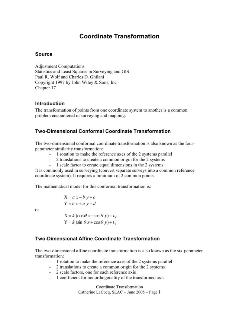 adjustment computations ghilani charles d