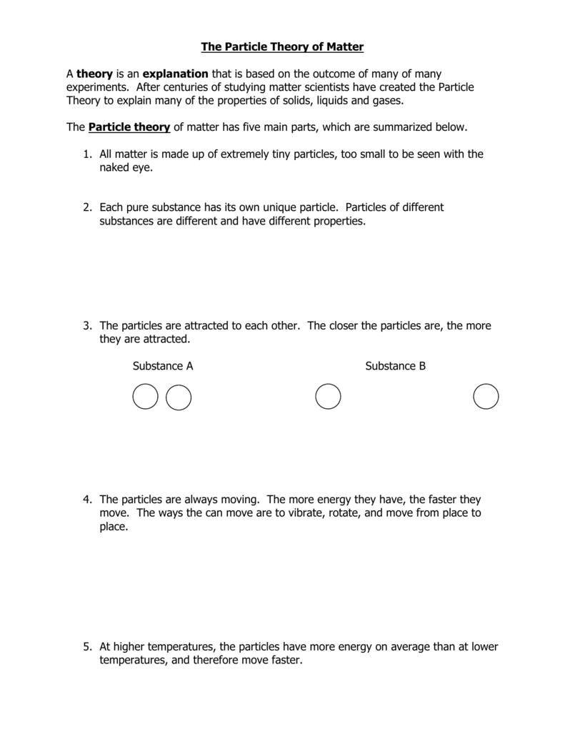 Free Particle Model Worksheet 2 Interactions Promotiontablecovers