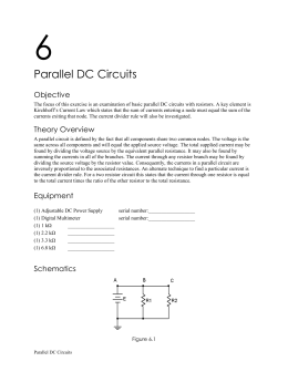 6 Parallel DC Circuits