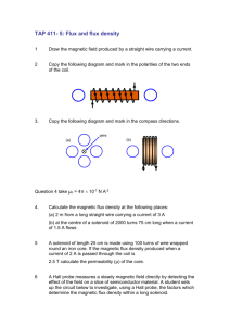 TAP 411- 5: Flux and flux density