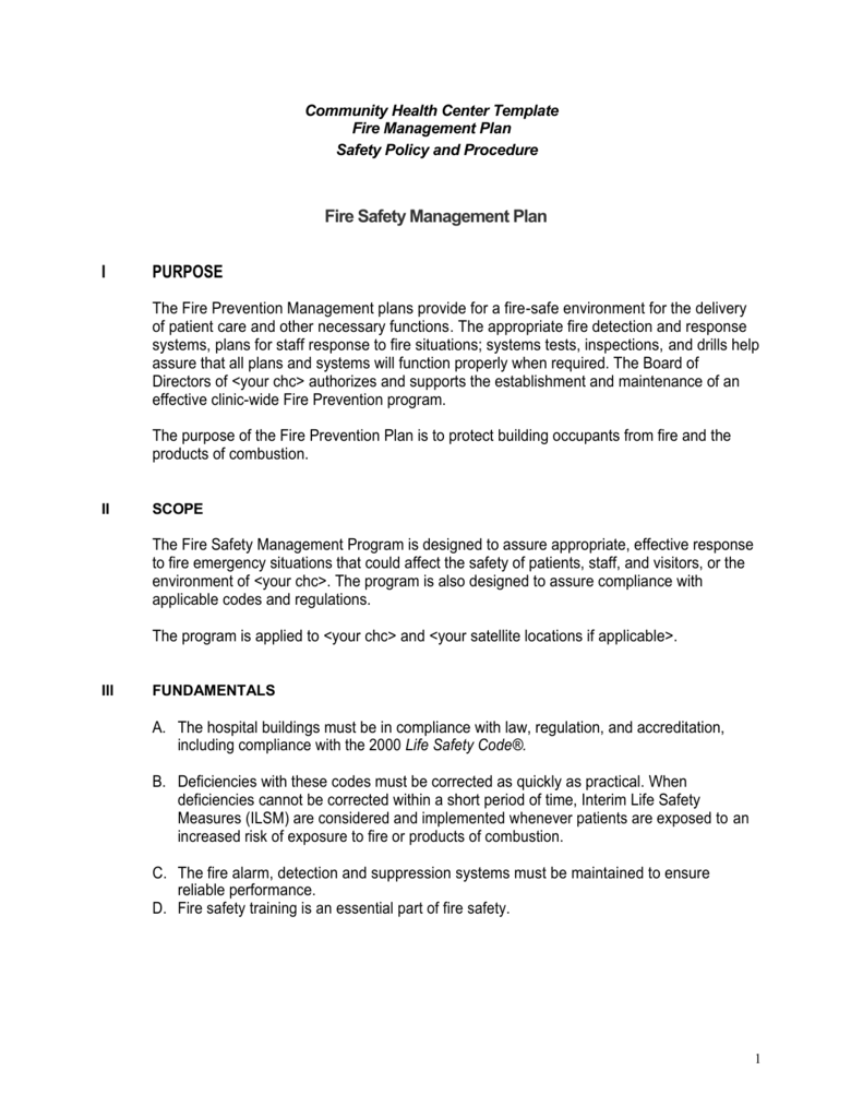 Executive summary fire management plan template maxwellsz