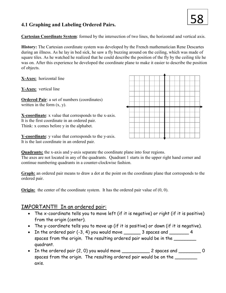 worksheet Single Quadrant Ordered Pairs halloween thanksgiving ordered pairs quadrant equivalent fractions quadrant