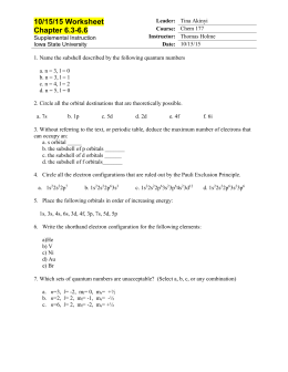 Worksheet 16