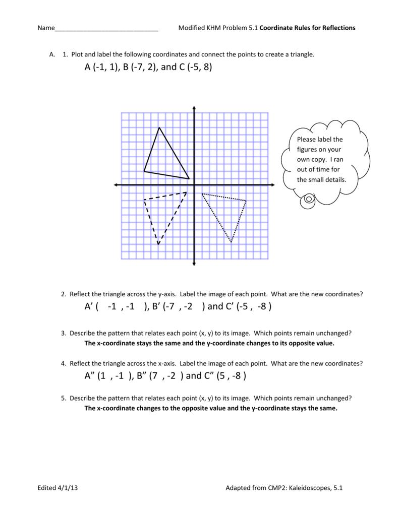 KHM Modified Problem 5.1 Answer Key