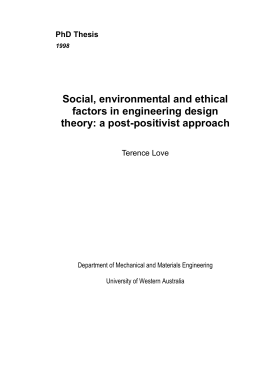 PhD Thesis - Love Design and Research