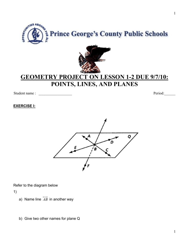 Geometry exercise project lesson 1 biocorpaavc