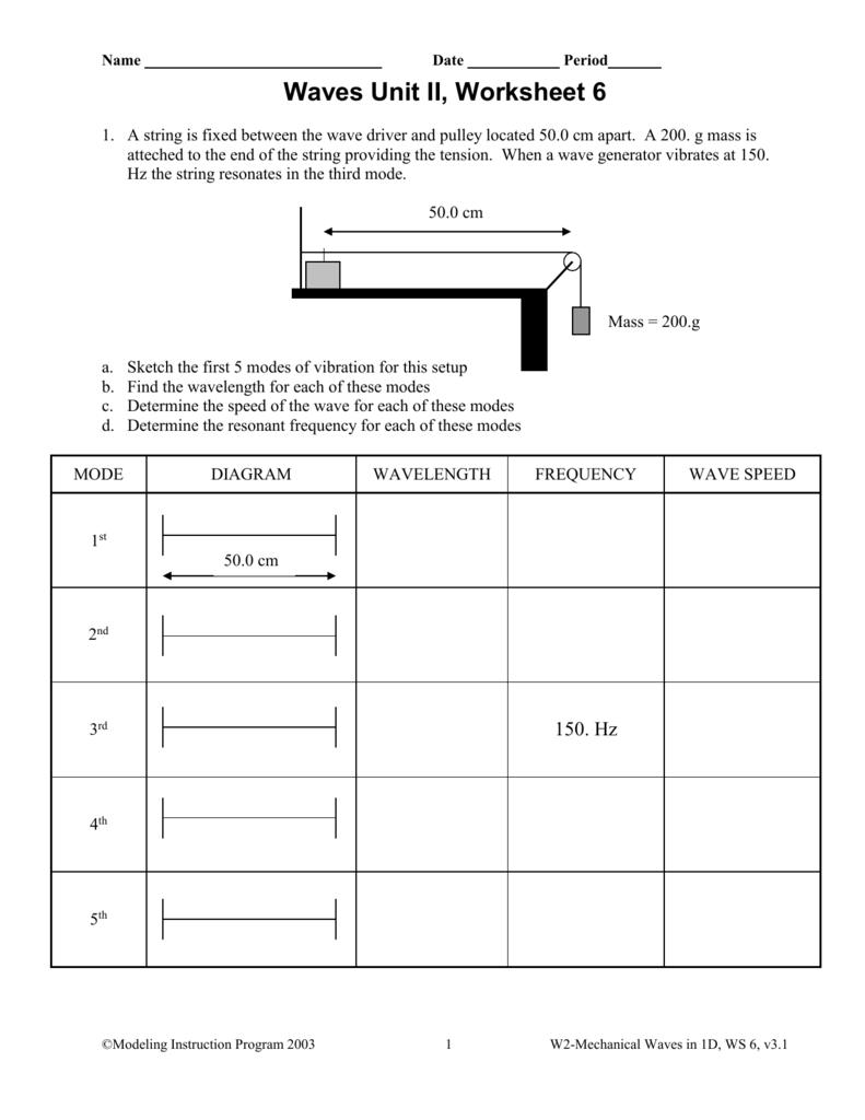 Unit 2 Worksheet 6