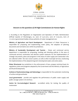 Montenegro - Office of the High Commissioner on Human Rights