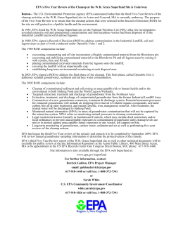 EPA 5 Year Review July 2009