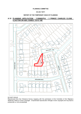 A10 Planning Application 11/00682/FUL