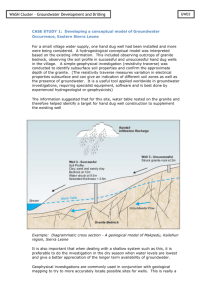 GWD3_HO_Case study Groundwater model