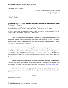 Press Release, dated August 15, 2012