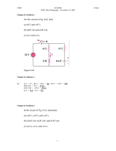 Chapter 8, Problem 1