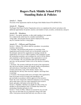 Meetings&Minutes_files/PTO Standing Rules & Policies