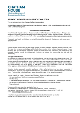 student membership application form