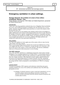 E9_HO_Urban Emergency Sanitation
