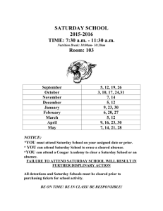 saturday school flyer 2015-2016