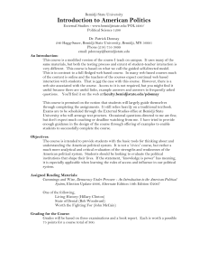 External Course Syllabus - Bemidji State University
