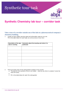 Synthetic Lab Tour - Corridor Task - ABPI