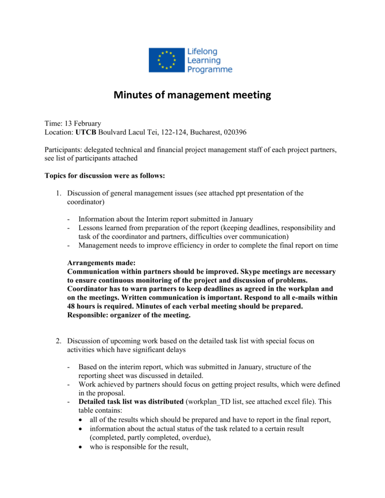 Minutes of management meeting_13 02 2015 Bucharest - 3c