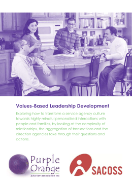 Values-Based Leadership Development