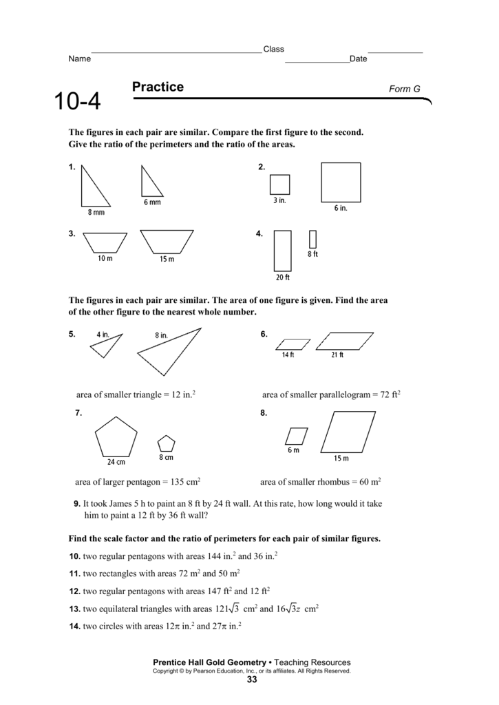 prentice hall gold algebra 1 form g answers - Dolap.magnetband.co