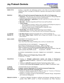 Jay Resume July 17 2012