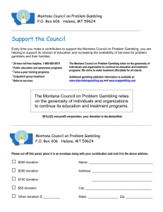 Montana-Council-on-Problem-Gambling-Donation
